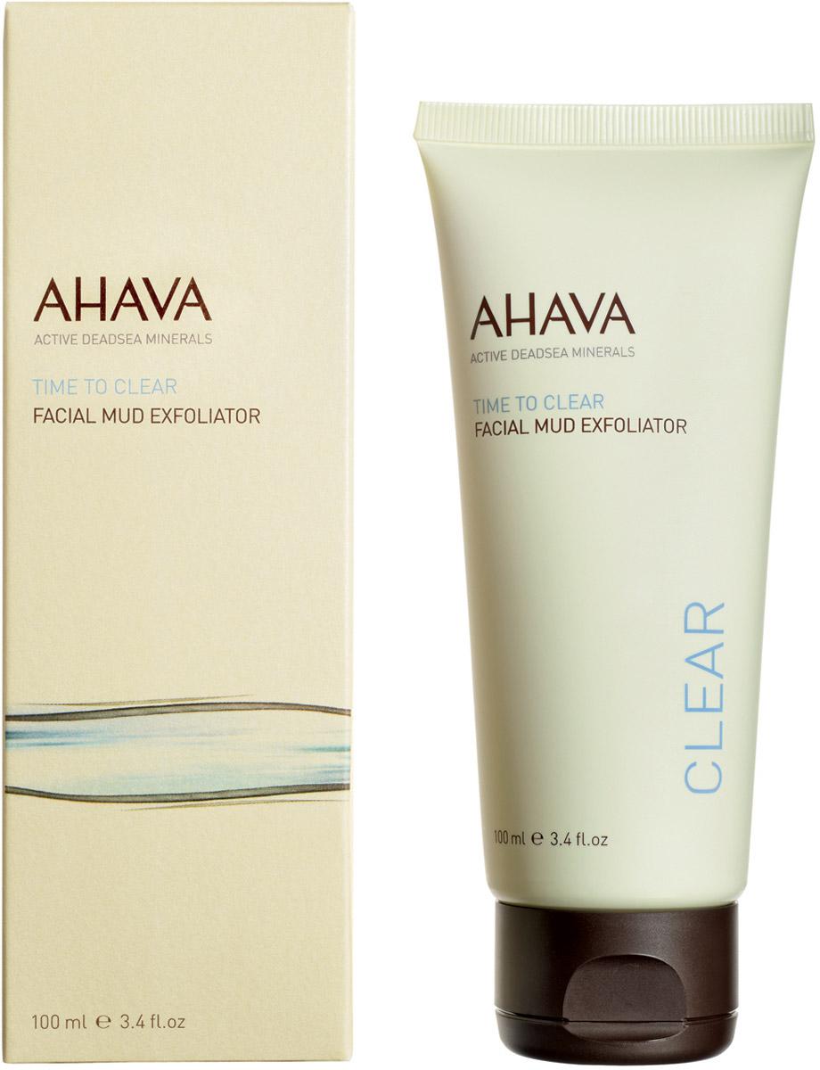 Ahava Time To Clear Грязевый пилинг для лица100 мл ahava time to clear purifying mud mask объем 100 мл