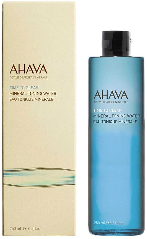 Ahava Time To Clear Минеральный тонизирующий лосьон 250 мл88615065Минеральная тонирующая вода, обогащенная Osmoter™ и растительными экстрактами, восстанавливает естественный уровень pH, поддерживает водный баланс, успокаивает и освежает, подготавливая кожу для нанесения других средств ухода.
