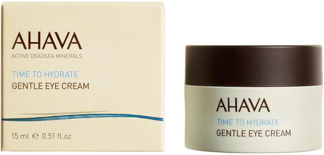 Ahava Time To Hydrate Нежный крем для глаз 15 мл80515065Легкий и нежный крем, легко впитывается в кожу, обеспечивает кожи вокруг глаз максимальным комфортом. Увлажняет тонкую и нежную кожу вокруг глаз, уменьшает морщины и устраняет усталость.