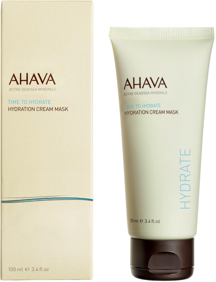 Ahava Time To Hydrate Увлажняющая крем - маска 100 мл830269Увлажняющая маска с кремовой текстурой, обогащенная лучшими минералами и грязью Мертвого моря, маслом Ши и отборными увлажняющими ингредиентами, обеспечивает интенсивное уважение всего за 3 минуты. Кожа лица мгновенно разглаживается и становится свежей.