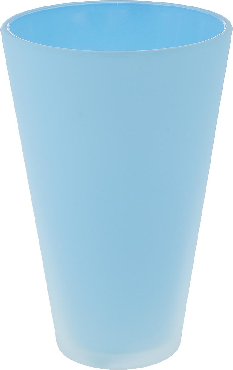 Кашпо NiNaGlass, цвет: голубой, высота 21 смМ 3164Кашпо NiNaGlass имеет уникальную форму, сочетающуюся как с классическим, так и с современным дизайном интерьера. Оно изготовлено из высококачественного стекла и предназначено для выращивания растений, цветов и трав в домашних условиях. Кашпо NiNaGlass порадует вас функциональностью, а благодаря лаконичному дизайну впишется в любой интерьер помещения. Диаметр кашпо (по верхнему краю): 14 см.Высота кашпо: 21 см.