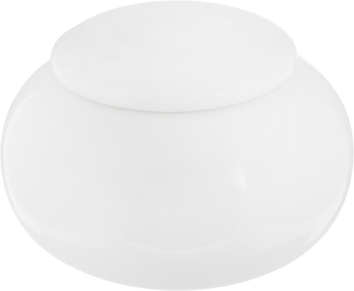 Сахарница Ariane Коуп, 9,5 х 9,5 х 6,5 см115510Сахарница Ariane Коуп выполнена из высококачественного фарфора с глазурованным покрытием. Изделие имеет элегантную форму и может использоваться в качестве креманки. Десерт, поданный в такой посуде, будет ещё более сладким. Сахарница Ariane Коуп станет отличным дополнением к сервировке семейного стола и замечательным подарком для ваших родных и друзей.Можно мыть в посудомоечной машине и использовать в микроволновой печи. Диаметр (по верхнему краю): 5 см. Высота (с учетом крышки): 6,5 см.