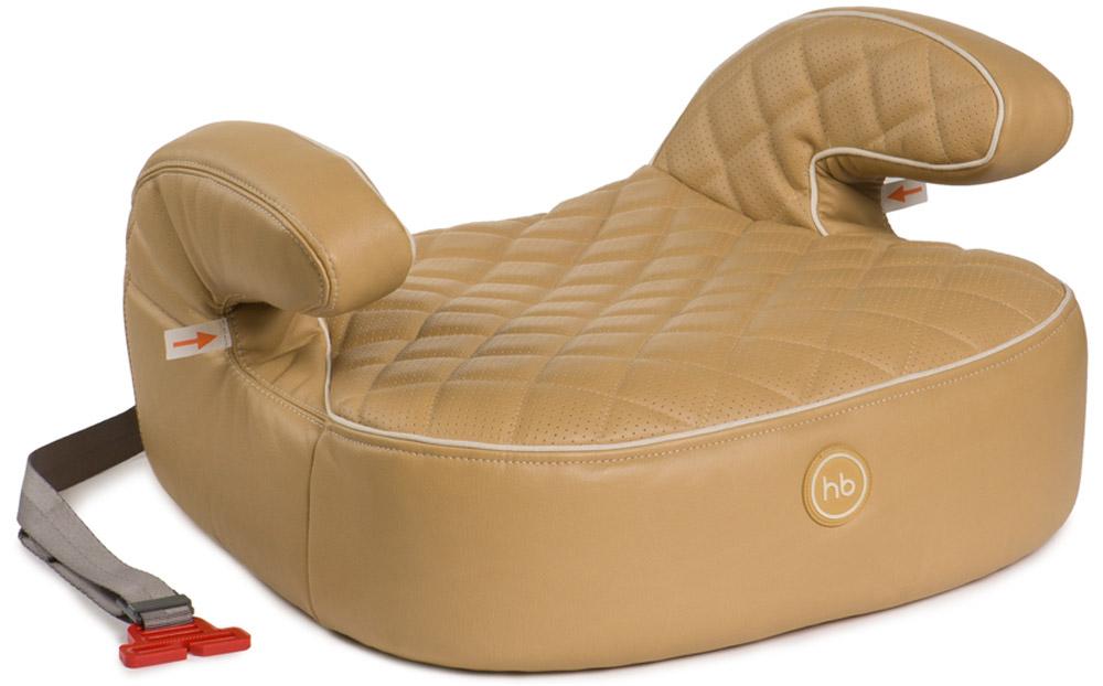 Happy Baby Бустер Booster Rider Deluxe Beige4650069780373Happy Baby Rider Deluxe - автокресло без спинки с мягкими подлокотниками, которое позволяет полноценно пристегнуть ребенка штатным ремнем безопасности и рассчитано на вес от 22 до 36 кг. Форма и крупные размеры бустера обеспечивают правильное положение в дороге, комфорт и максимальную безопасность. Стежка придает особую мягкость и делает сиденье уютным и комфортабельным для ребенка. Чехол из эко-кожи прост в уходе, при необходимости легко снимается для чистки. Крепится в автомобиле штатными 3-точечными ремнями безопасности и устанавливается лицом по ходу движения автомобиля.Возраст: от 3 летШирина посадочного места: 28 смГлубина посадочного места: 40 смКаркас: пенополипропилен