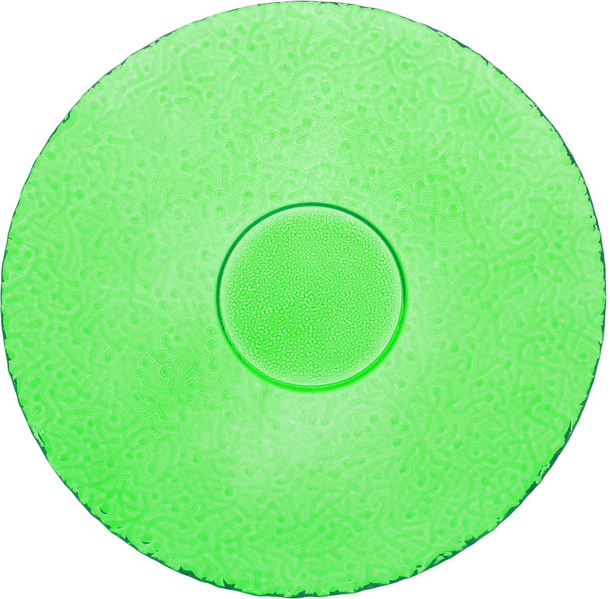 Тарелка NiNaGlass Ажур, цвет: зеленый, диаметр 21 см54 009312Тарелка NiNaGlass Ажур выполнена из высококачественного стекла и имеет рельефную поверхность. Она прекрасно впишется в интерьер вашей кухни и станет достойным дополнением к кухонному инвентарю. Тарелка NiNaGlass Ажур подчеркнет прекрасный вкус хозяйки и станет отличным подарком. Диаметр тарелки: 21 см. Высота: 2,5 см.