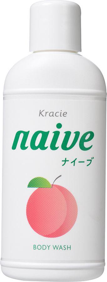 Kracie 16460 Naive Мыло жидкое для тела с экстрактом листьев персикового дерева 80 млMP59.3DЖидкое мыло предназначено для ежедневного ухода за кожей,подходит для использования всеми членами семьи, даже для детскойкожи. Благодаря сочетанию компонентов на основе аминокис- лот икомпонентов растительного происхождения обильная пена мягко очищает иосвежает (лауроил метил аланин натрия, орех мыльного дерева), увлажняет(растительный глицерин) и питает (масла оливы и жожоба) кожу. Экстрактлистьев персикового дерева увлажняет, смягчает и делает кожу гладкой.Не содержатся красители, минеральные масла, силиконы, парабены, спирты.Сладковатый фруктово-цветочный аромат сохранится на коже после использования.