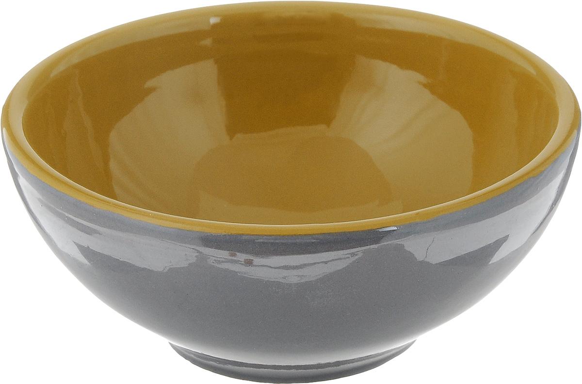 Розетка для варенья Борисовская керамика Радуга, цвет: серый, горчичный, 200 мл115510Розетка для варенья Борисовская керамика Радуга изготовлена из высококачественной керамики. Изделие отлично подойдет для подачи на стол меда, варенья, соуса, сметаны и многого другого.Такая розетка украсит ваш праздничный или обеденный стол, а яркое оформление понравится любой хозяйке. Можно использовать в духовке и микроволновой печи. Диаметр (по верхнему краю): 10 см.Высота: 4,5 см.Объем: 200 мл.
