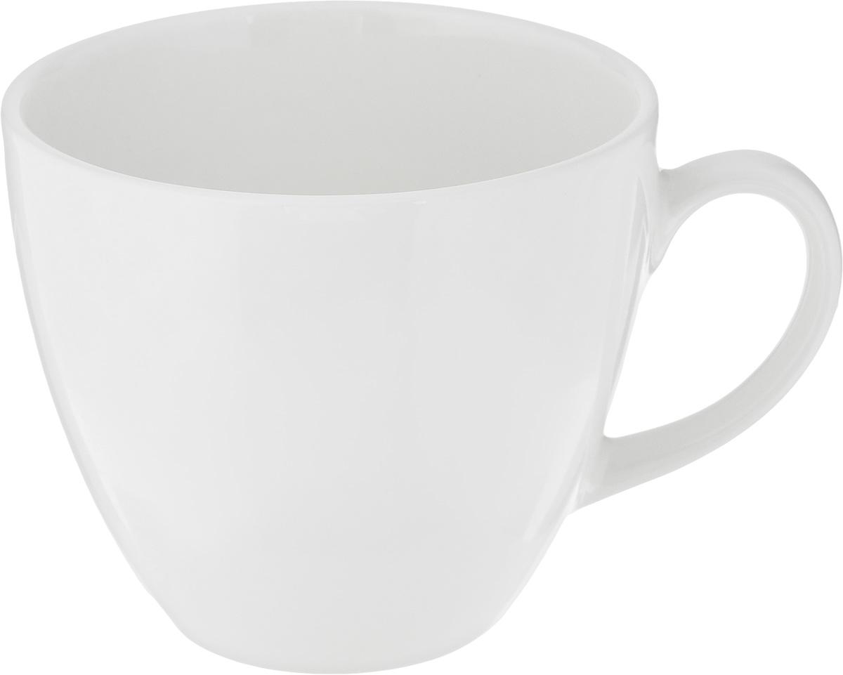 Чашка чайная Ariane Коуп, 200 мл115510Чашка Ariane Коуп выполнена из высококачественного фарфора с глазурованным покрытием. Изделие оснащено удобной ручкой. Нежнейший дизайн и белоснежность изделия дарят ощущение легкости и безмятежности.Изысканная чашка прекрасно оформит стол к чаепитию и станет его неизменным атрибутом.Можно мыть в посудомоечной машине и использовать в СВЧ.Диаметр чашки (по верхнему краю): 8,2 см.Высота чашки: 7 см.