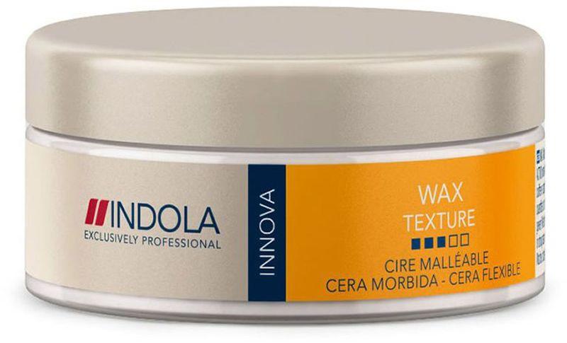 Indola Текстурирующий воск Texture Soft Wax 75 млMP59.4DIndola Текстурирующий воск. Содержит пчелиный воск и фильмформеры, обеспечивающие текстуру, блеск и естественную подвижность. Провитамин В5 помогает сохранить натуральный баланс влаги в волосах. Позволяет менять форму прически в течении дня. Предназначен для любого типа волос.