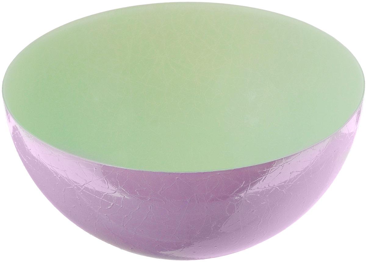 Салатник NiNaGlass Шеф, цвет: зеленый, сиреневый, диаметр 28 см83-089-Ф280 З-СИРДвухцветный салатник NiNaGlass Альтера выполнен из высококачественного стекла. Внешние стенки декорированы красивым узором. Салатник идеален для сервировки салатов, овощей, фруктов, ягод, вторых блюд, гарниров и многого другого. Он отлично подойдет как для повседневных, так и для торжественных случаев.Такой салатник прекрасно впишется в интерьер вашей кухни и станет достойным дополнением к кухонному инвентарю.Диаметр салатника (по верхнему краю): 28 см.Высота стенки: 13 см.