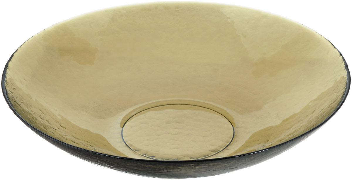 Салатник NiNaGlass Богемия, цвет: дымчатый, диаметр 38 см1С3-1Салатник NiNaGlass Богемия выполнен из высококачественного стекла. Идеален для сервировки большого количества салатов, овощей и фруктов, ягод, вторых блюд, гарниров и многого другого. Он отлично подойдет как для повседневных, так и для торжественных случаев.Такой салатник прекрасно впишется в интерьер вашей кухни и станет достойным дополнением к кухонному инвентарю.Диаметр салатника (по верхнему краю): 38 см.Высота стенки: 9 см.