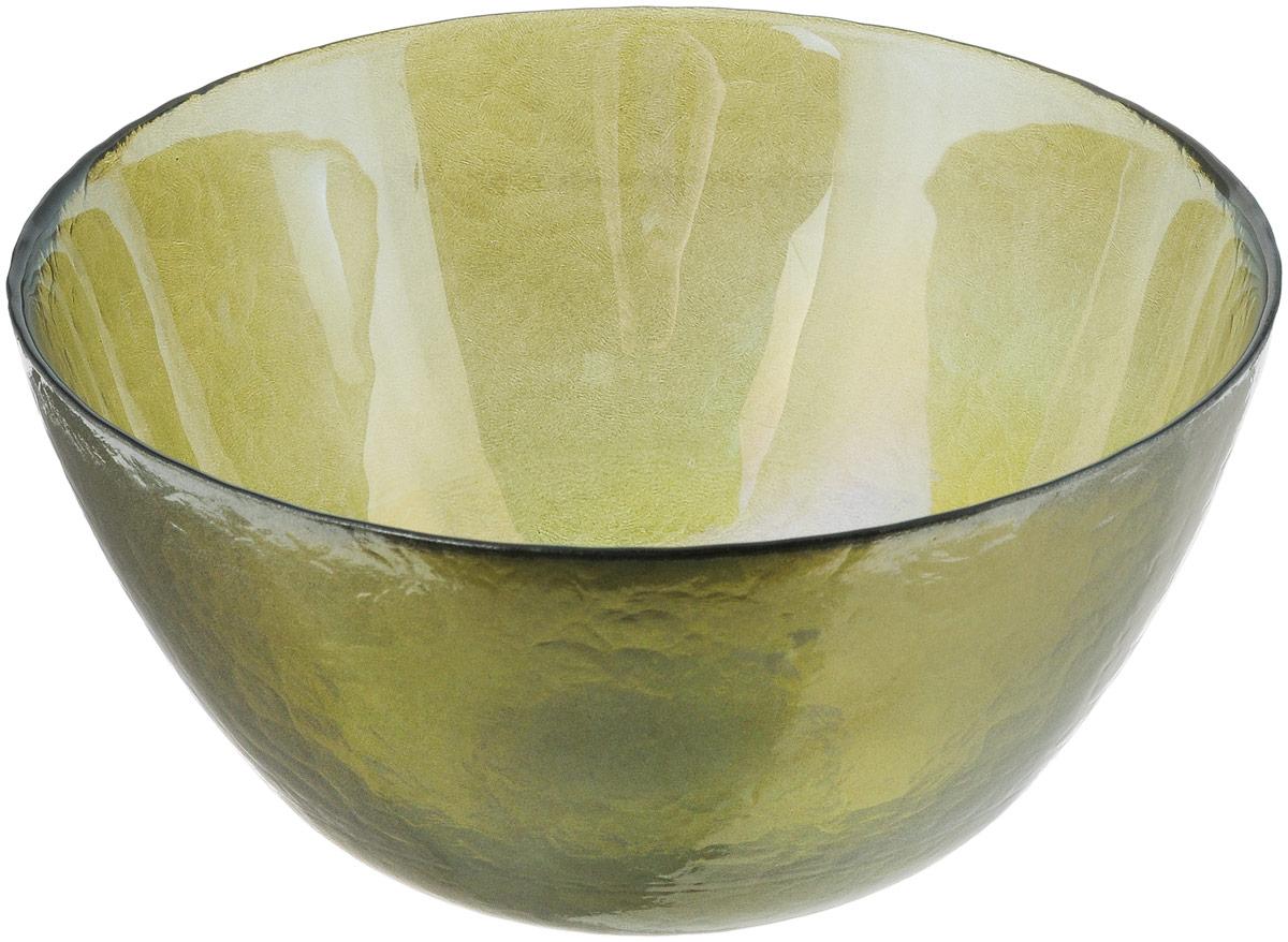 Салатник NiNaGlass Богемия, цвет: оливковый, диаметр 21 см54 009312Салатник NiNaGlass Богемия выполнен из высококачественного стекла. Идеален для сервировки салатов, овощей и фруктов, ягод, вторых блюд, гарниров и многого другого. Он отлично подойдет как для повседневных, так и для торжественных случаев.Такой салатник прекрасно впишется в интерьер вашей кухни и станет достойным дополнением к кухонному инвентарю.Диаметр салатника (по верхнему краю): 21 см.Высота стенки: 10,5 см.