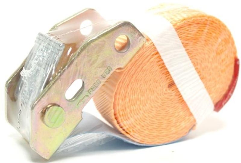 Стяжка для крепления груза Tplus, с фиксатором, с замком, 600 кг, 4 мVCA-00Стяжка Tplus предназначена для фиксации грузов на транспорте. За счет ленты с замком она отлично подходит для крепления грузов, перевозимых даже на дальние расстояния.Предельная рабочая нагрузка (WLL): 600 кг.Длина: 4 м. Ширина ленты: 25 мм. Материал ленты: полиэстер.Замок: сталь.
