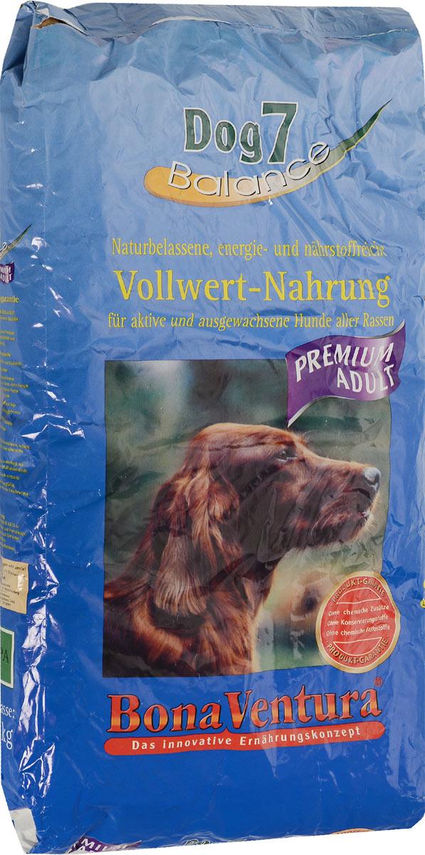 Корм сухой BonaVentura Dog 7 Premium для взрослых собак, 12,5 кг205212Натуральный корм BonaVentura Dog 7 Premium предназначен для взрослых собак всех пород. Он произведен из продуктов, пригодных в пищу человека по специальной технологии, схожей с технологией Sous Vide. Благодаря технологии при изготовлении сохраняются все натуральные витамины и минералы. Это достигается благодаря бережной обработке всех ингредиентов при температуре менее 80 градусов. Такая бережная обработка продуктов не стерилизует продуктовые компоненты. Благодаря этому корма не нуждаются ни в каких дополнительных вкусовых добавках и сохраняют все необходимые полезные вещества. При производстве кормов используются исключительно свежие натуральные продукты: мясо, овощи и зерновые;Приготовлено из 100% свежего мяса, пригодного в пищу человеку;Содержит натуральные витамины, аминокислоты, минеральные вещества и микроэлементы;С экстрактом масла зародышей зерна пшеницы холодного отжима (Bio-Dura);Без химических красителей, усилителей вкуса, искусственных консервантов и химических добавок;Без ГМО;Без мясокостной муки;Без сои.Товар сертифицирован.