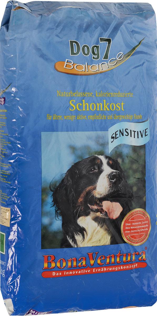 Корм сухой BonaVentura Dog 7 Sensitive для взрослых собак, склонных к полноте, 12,5 кг205312Натуральный корм BonaVentura Dog 7 Sensitive предназначен для взрослых собак, склонных к полноте. Он произведен из продуктов, пригодных в пищу человека по специальной технологии, схожей с технологией Sous Vide. Благодаря технологии при изготовлении сохраняются все натуральные витамины и минералы. Это достигается благодаря бережной обработке всех ингредиентов при температуре менее 80 градусов. Такая бережная обработка продуктов не стерилизует продуктовые компоненты. Благодаря этому корма не нуждаются ни в каких дополнительных вкусовых добавках и сохраняют все необходимые полезные вещества. При производстве кормов используются исключительно свежие натуральные продукты: мясо, овощи и зерновые;Приготовлено из 100% свежего мяса, пригодного в пищу человеку;Содержит натуральные витамины, аминокислоты, минеральные вещества и микроэлементы;С экстрактом масла зародышей зерна пшеницы холодного отжима (Bio-Dura);Без химических красителей, усилителей вкуса, искусственных консервантов и химических добавок;Без ГМО;Без мясокостной муки;Без сои.Товар сертифицирован.