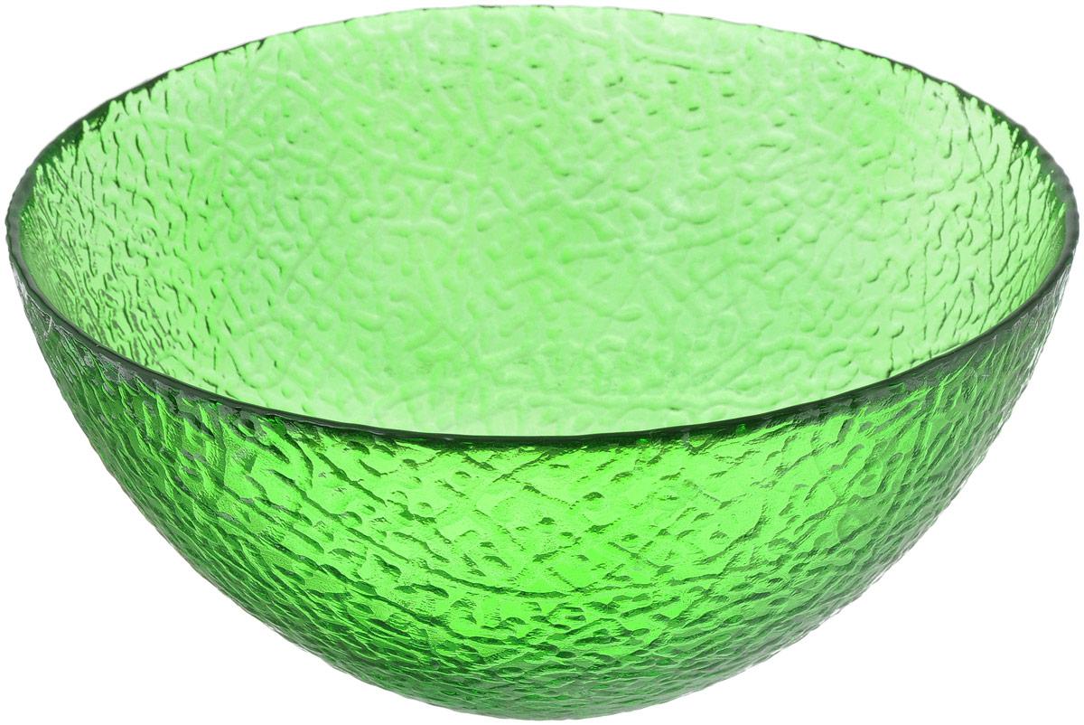 Салатник NiNaGlass Ажур, цвет: зеленый, диаметр 20 см115010Салатник NiNaGlass Ажур выполнен из высококачественного стекла и декорирован рельефным узором. Идеален для сервировки салатов, овощей и фруктов, ягод, вторых блюд, гарниров и многого другого. Он отлично подойдет как для повседневных, так и для торжественных случаев.Такой салатник прекрасно впишется в интерьер вашей кухни и станет достойным дополнением к кухонному инвентарю.Диаметр салатника (по верхнему краю): 20 см.Высота стенки: 9 см.