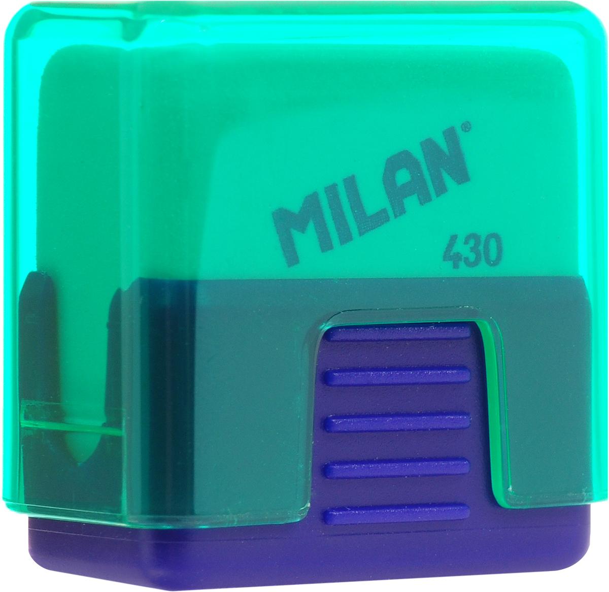 Ластик Milan School 430 - это ластик с пластиковым держателем в эргономичном компактном корпусе. Заменяемый ластик.