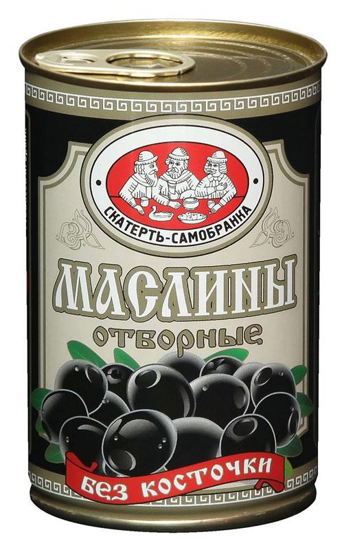 Скатерть-Самобранка маслины без косточки, 314 мл4041811119013Черные маслины без косточки.