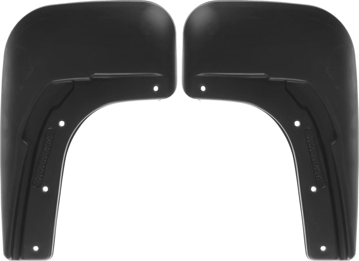 Комплект брызговиков задних Novline-Autofamily для Volkswagen Polo, 2015-, седан, 2 шт.SVC-300Брызговики служат для защиты нижней части кузова от воды, грязи, камней, песка во время движения автомобиля. С эстетической точки зрения брызговики являются завершением колесной арки, они подчеркивают красоту и изящество форм автомобиля. Основные требования, которым должны соответствовать брызговики – гибкость и прочность. Изделия, производимые на основе пластика (полиуретановые брызговики), обладают высоким показателям прочности, экологичности, а так же, устойчивосттю к температурным колебаниям.