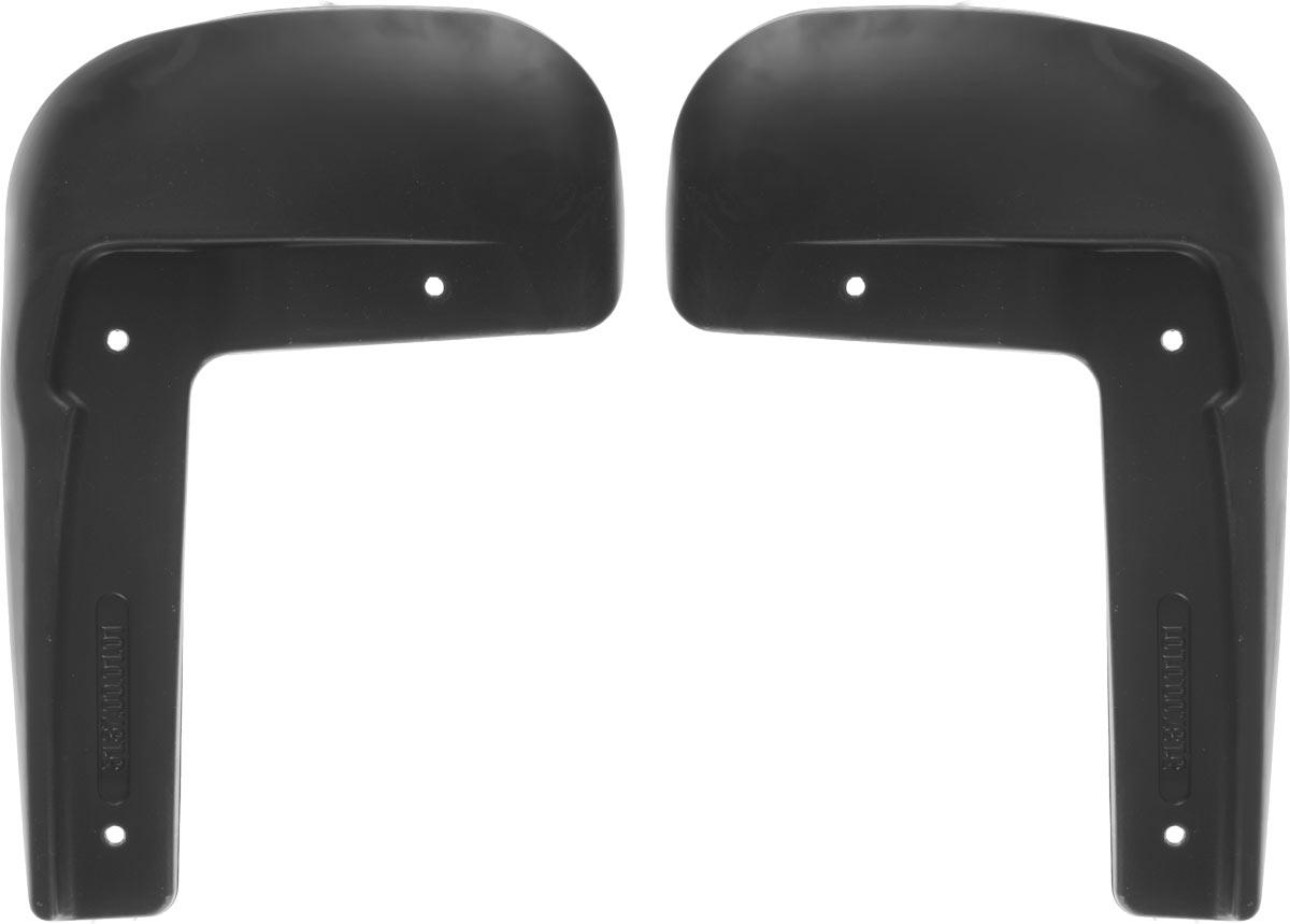 Комплект брызговиков передних Novline-Autofamily для Volkswagen Polo, 2015-, седан, 2 шт.SVC-300Брызговики служат для защиты нижней части кузова от воды, грязи, камней, песка во время движения автомобиля. С эстетической точки зрения брызговики являются завершением колесной арки, они подчеркивают красоту и изящество форм автомобиля. Основные требования, которым должны соответствовать брызговики – гибкость и прочность. Изделия, производимые на основе пластика (полиуретановые брызговики), обладают высоким показателям прочности, экологичности, а так же, устойчивостью к температурным колебаниям.