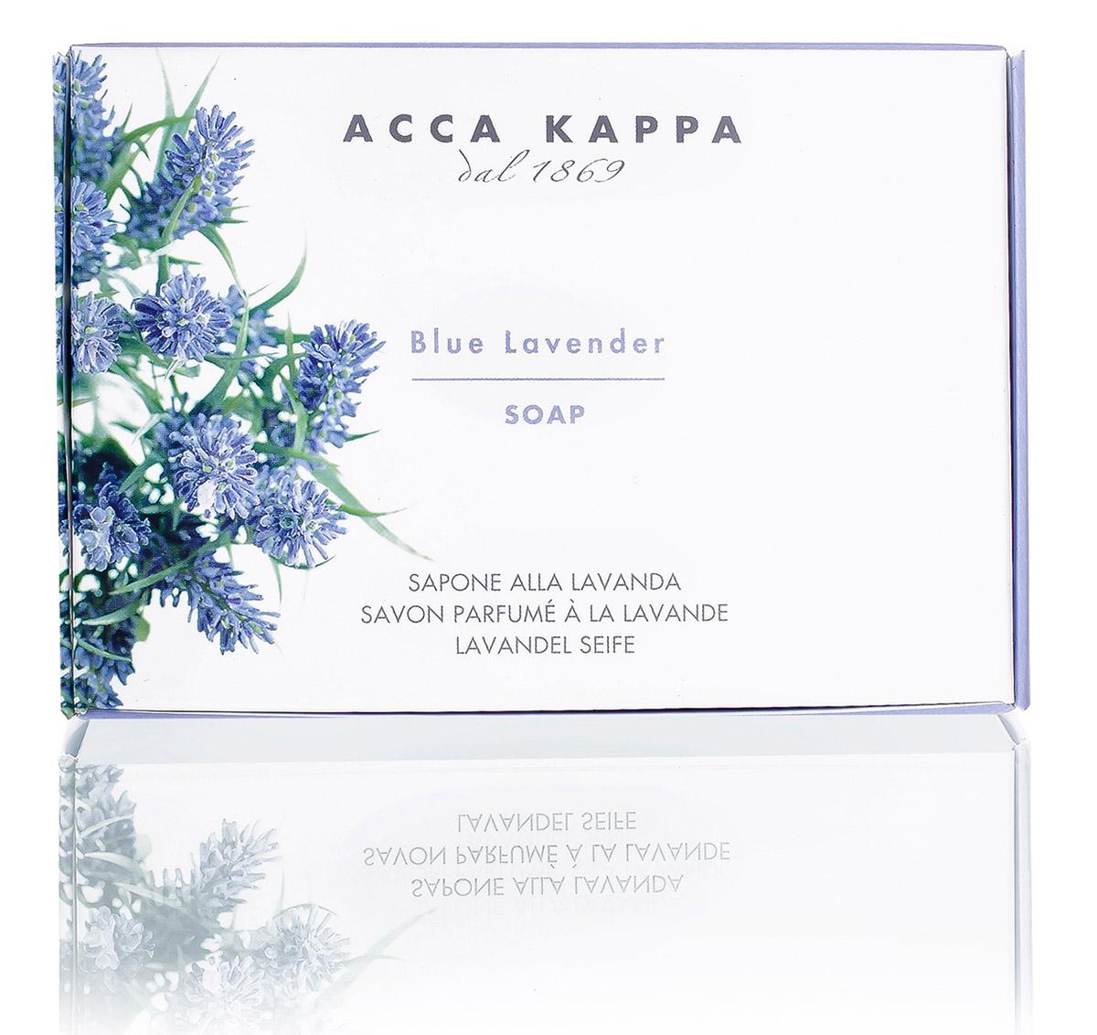 Acca Kappa Мыло туалетное Лаванда 150 гр071-6-2634Мыло создано с использованием традиционных методов из сырья исключительно растительного происхождения.