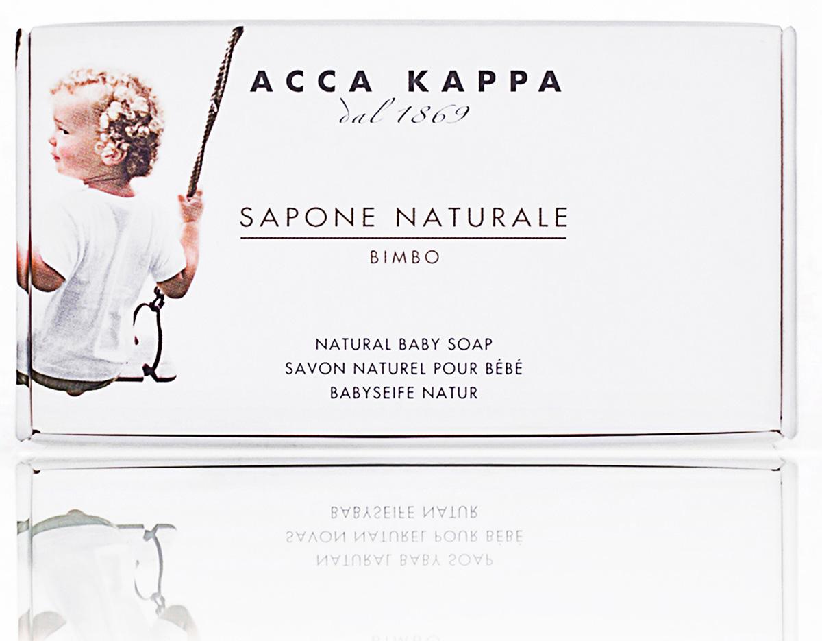 Acca Kappa Мыло туалетное увлажняющее (натуральное) 100 гр5010777139655Мыло создано с использованием традиционных методов из сырья исключительно растительного происхождения.