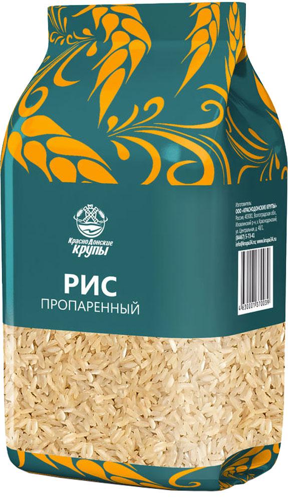 Краснодонские крупы рис пропаренный, 800 г4630001370039При обработке паром до 80 % витаминов и минералов, содержащихся в отрубной оболочке, переходит в зерно риса, а сами зёрна становятся менее ломкими. Желтоватый оттенок пропаренного риса исчезает при готовке, и он становится таким же белоснежным, как и белый шлифованный рис. Однако время готовки пропаренного риса составляет 20-25 минут из-за того, что зёрна после обработки становятся твёрже и развариваются медленнее обычного риса.