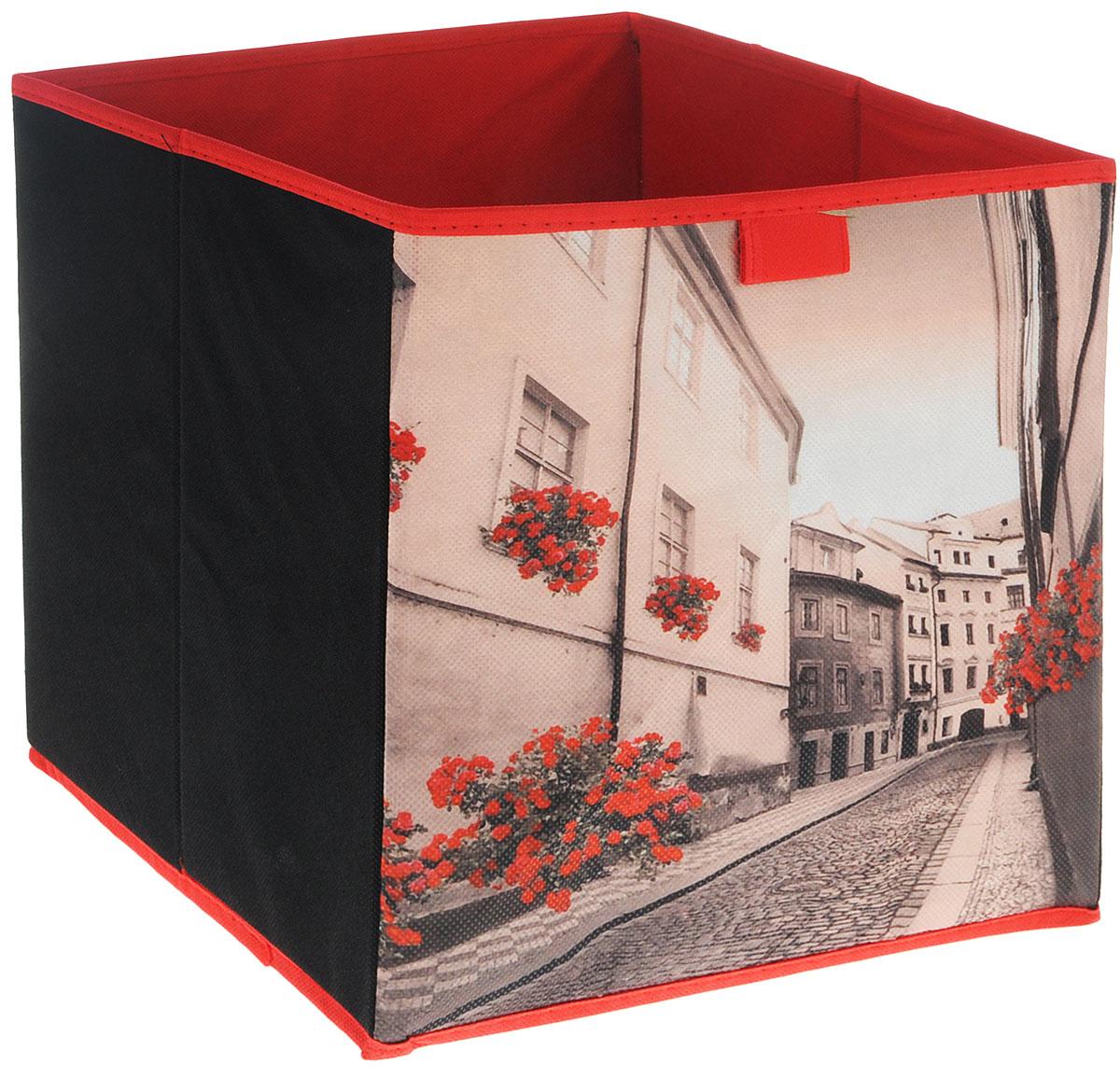 Коробка для хранения Youll love, складная, цвет: красный, 27 х 27 х 28 смRG-D31SКоробка для хранения Youll love поможет легко организовать пространство в шкафу или в гардеробе. Изделие выполнено из нетканого полотна(полипропилена). Коробка держит форму благодаря жесткой вставке из картона, которая устанавливается на дно. В такой коробке удобно хранить нижнее белье, ремни и различные аксессуары. Высота коробки в разобранном виде: 28 см.