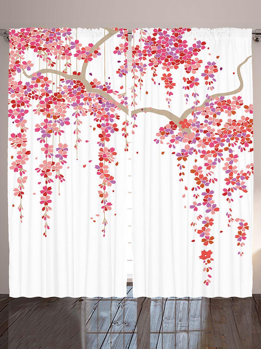 Комплект фотоштор Magic Lady Ветви сакуры, на ленте, высота 265 см. шсг_1233221282Компания Сэмболь изготавливает шторы из высококачественного сатена (полиэстер 100%). При изготовлении используются специальные гипоаллергенные чернила для прямой печати по ткани, безопасные для человека и животных. Экологичность продукции Magic lady и безопасность для окружающей среды подтверждены сертификатом Oeko-Tex Standard 100. Крепление: крючки для крепления на шторной ленте (50 шт). Возможно крепление на трубу. Внимание! При нанесении сублимационной печати на ткань технологическим методом при температуре 240°С, возможно отклонение полученных размеров (указанных на этикетке и сайте) от стандартных на + - 3-5 см. Производитель старается максимально точно передать цвета изделия на фотографиях, однако искажения неизбежны и фактический цвет изделия может отличаться от воспринимаемого по фото. Обратите внимание! Шторы изготовлены из полиэстра сатенового переплетения, а не из сатина (хлопок). Размер одного полотна шторы: 145х265 см. В комплекте 2 полотна шторы и 50 крючков.