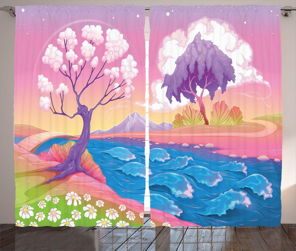 Комплект фотоштор Magic Lady Розовый берег на закате, на ленте, высота 265 см. шсг_14971шсг_8988Компания Сэмболь изготавливает шторы из высококачественного сатена (полиэстер 100%). При изготовлении используются специальные гипоаллергенные чернила для прямой печати по ткани, безопасные для человека и животных. Экологичность продукции Magic lady и безопасность для окружающей среды подтверждены сертификатом Oeko-Tex Standard 100. Крепление: крючки для крепления на шторной ленте (50 шт). Возможно крепление на трубу. Внимание! При нанесении сублимационной печати на ткань технологическим методом при температуре 240°С, возможно отклонение полученных размеров (указанных на этикетке и сайте) от стандартных на + - 3-5 см. Производитель старается максимально точно передать цвета изделия на фотографиях, однако искажения неизбежны и фактический цвет изделия может отличаться от воспринимаемого по фото. Обратите внимание! Шторы изготовлены из полиэстра сатенового переплетения, а не из сатина (хлопок). Размер одного полотна шторы: 145х265 см. В комплекте 2 полотна шторы и 50 крючков.