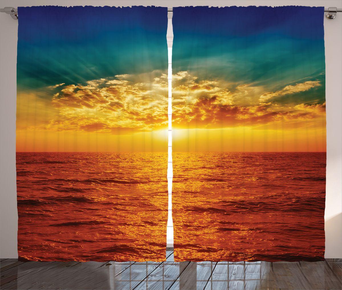 Комплект фотоштор Magic Lady Красное море, на ленте, высота 265 см. шсг_1503121245Компания Сэмболь изготавливает шторы из высококачественного сатена (полиэстер 100%). При изготовлении используются специальные гипоаллергенные чернила для прямой печати по ткани, безопасные для человека и животных. Экологичность продукции Magic lady и безопасность для окружающей среды подтверждены сертификатом Oeko-Tex Standard 100. Крепление: крючки для крепления на шторной ленте (50 шт). Возможно крепление на трубу. Внимание! При нанесении сублимационной печати на ткань технологическим методом при температуре 240°С, возможно отклонение полученных размеров (указанных на этикетке и сайте) от стандартных на + - 3-5 см. Производитель старается максимально точно передать цвета изделия на фотографиях, однако искажения неизбежны и фактический цвет изделия может отличаться от воспринимаемого по фото. Обратите внимание! Шторы изготовлены из полиэстра сатенового переплетения, а не из сатина (хлопок). Размер одного полотна шторы: 145х265 см. В комплекте 2 полотна шторы и 50 крючков.