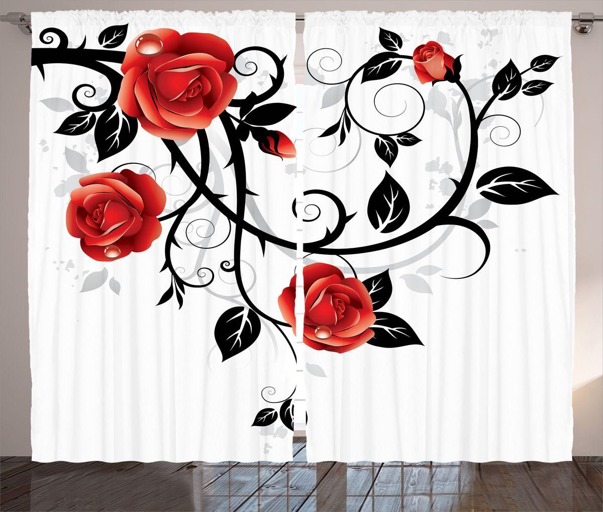Комплект фотоштор Magic Lady Алые розы в росе, на ленте, высота 265 см. шсг_15439шсг_14548Компания Сэмболь изготавливает шторы из высококачественного сатена (полиэстер 100%). При изготовлении используются специальные гипоаллергенные чернила для прямой печати по ткани, безопасные для человека и животных. Экологичность продукции Magic lady и безопасность для окружающей среды подтверждены сертификатом Oeko-Tex Standard 100. Крепление: крючки для крепления на шторной ленте (50 шт). Возможно крепление на трубу. Внимание! При нанесении сублимационной печати на ткань технологическим методом при температуре 240°С, возможно отклонение полученных размеров (указанных на этикетке и сайте) от стандартных на + - 3-5 см. Производитель старается максимально точно передать цвета изделия на фотографиях, однако искажения неизбежны и фактический цвет изделия может отличаться от воспринимаемого по фото. Обратите внимание! Шторы изготовлены из полиэстра сатенового переплетения, а не из сатина (хлопок). Размер одного полотна шторы: 145х265 см. В комплекте 2 полотна шторы и 50 крючков.