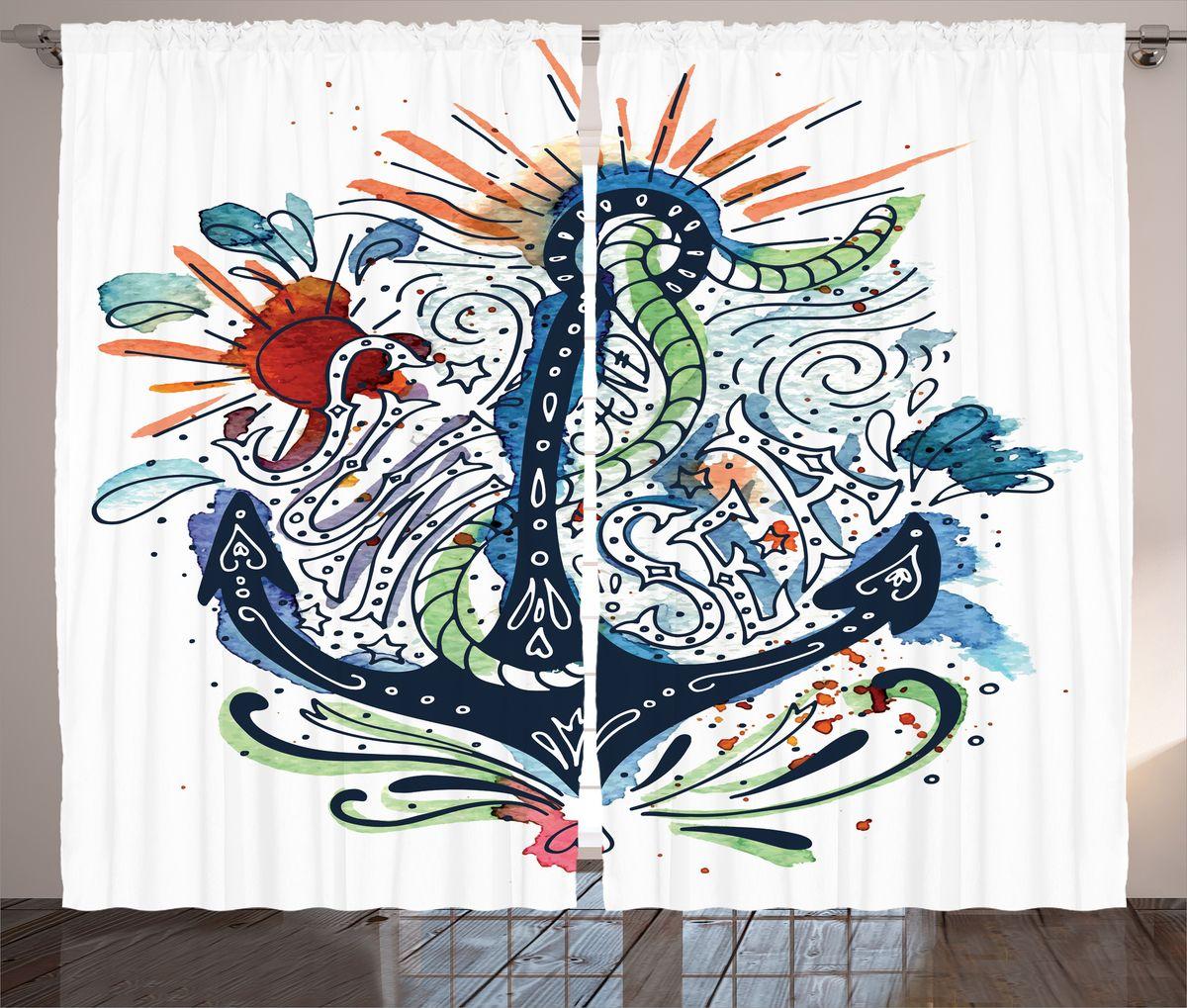 Комплект фотоштор Magic Lady Sun and sea, на ленте, высота 265 см. шсг_1593621203Компания Сэмболь изготавливает шторы из высококачественного сатена (полиэстер 100%). При изготовлении используются специальные гипоаллергенные чернила для прямой печати по ткани, безопасные для человека и животных. Экологичность продукции Magic lady и безопасность для окружающей среды подтверждены сертификатом Oeko-Tex Standard 100. Крепление: крючки для крепления на шторной ленте (50 шт). Возможно крепление на трубу. Внимание! При нанесении сублимационной печати на ткань технологическим методом при температуре 240°С, возможно отклонение полученных размеров (указанных на этикетке и сайте) от стандартных на + - 3-5 см. Производитель старается максимально точно передать цвета изделия на фотографиях, однако искажения неизбежны и фактический цвет изделия может отличаться от воспринимаемого по фото. Обратите внимание! Шторы изготовлены из полиэстра сатенового переплетения, а не из сатина (хлопок). Размер одного полотна шторы: 145х265 см. В комплекте 2 полотна шторы и 50 крючков.