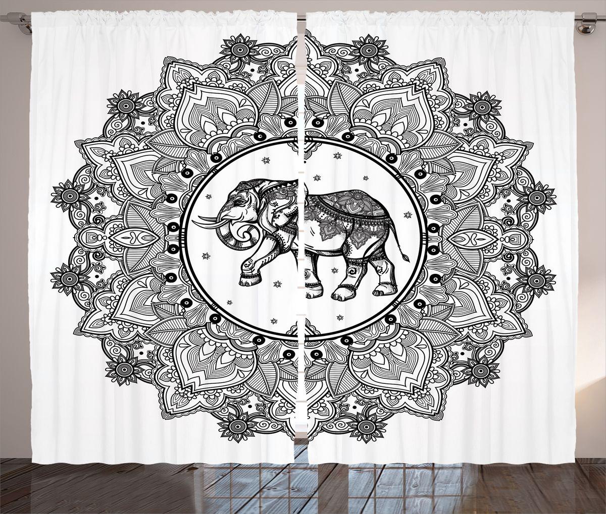 Комплект фотоштор Magic Lady, на ленте, высота 265 см. шсг_16086шсг_1612Компания Сэмболь изготавливает шторы из высококачественного сатена (полиэстер 100%). При изготовлении используются специальные гипоаллергенные чернила для прямой печати по ткани, безопасные для человека и животных. Экологичность продукции Magic lady и безопасность для окружающей среды подтверждены сертификатом Oeko-Tex Standard 100. Крепление: крючки для крепления на шторной ленте (50 шт). Возможно крепление на трубу. Внимание! При нанесении сублимационной печати на ткань технологическим методом при температуре 240°С, возможно отклонение полученных размеров (указанных на этикетке и сайте) от стандартных на + - 3-5 см. Производитель старается максимально точно передать цвета изделия на фотографиях, однако искажения неизбежны и фактический цвет изделия может отличаться от воспринимаемого по фото. Обратите внимание! Шторы изготовлены из полиэстра сатенового переплетения, а не из сатина (хлопок). Размер одного полотна шторы: 145х265 см. В комплекте 2 полотна шторы и 50 крючков.