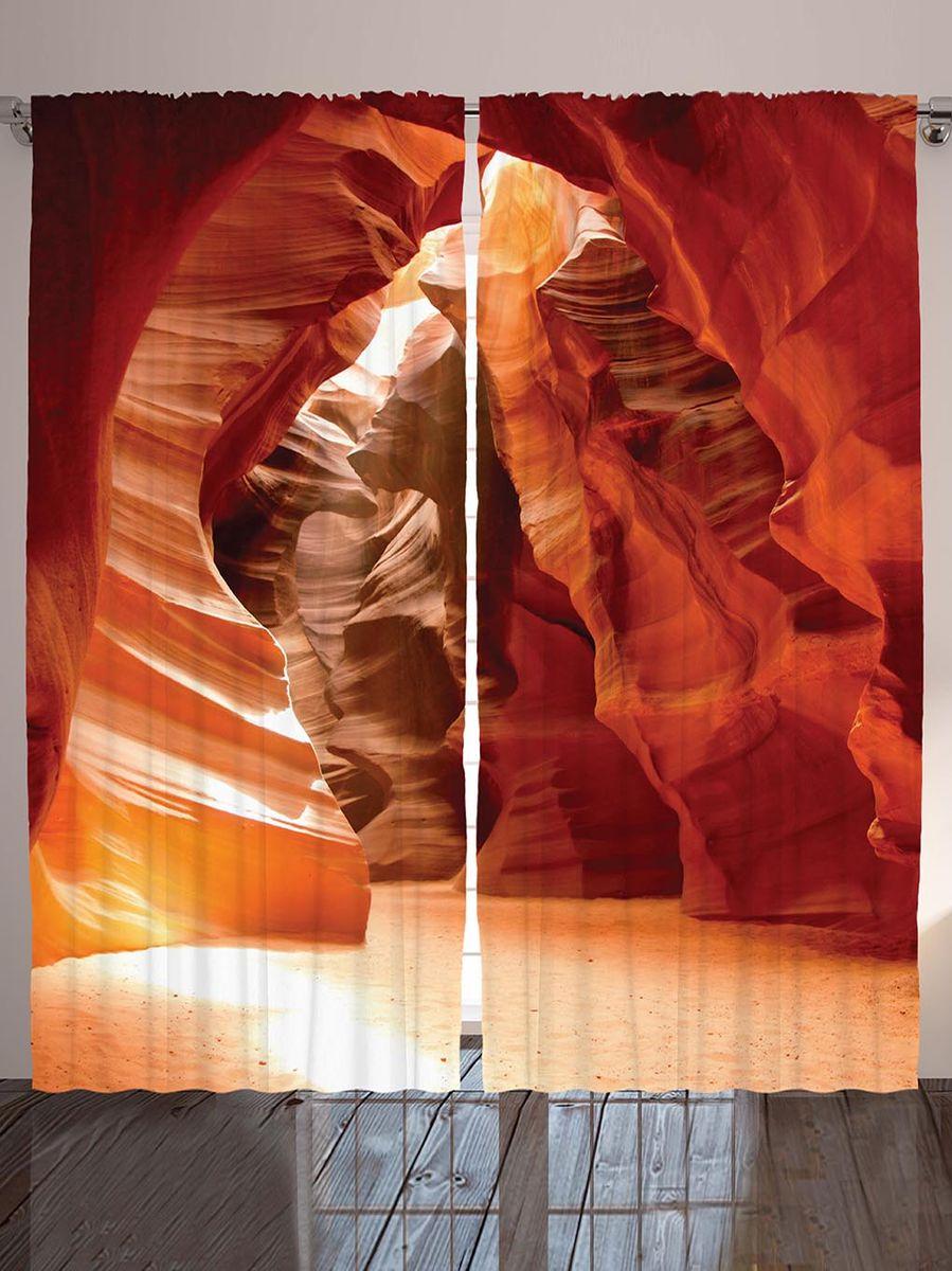 Комплект фотоштор Magic Lady Оранжевый грот, на ленте, высота 265 см. шсг_8909S03301004Компания Сэмболь изготавливает шторы из высококачественного сатена (полиэстер 100%). При изготовлении используются специальные гипоаллергенные чернила для прямой печати по ткани, безопасные для человека и животных. Экологичность продукции Magic lady и безопасность для окружающей среды подтверждены сертификатом Oeko-Tex Standard 100. Крепление: крючки для крепления на шторной ленте (50 шт). Возможно крепление на трубу. Внимание! При нанесении сублимационной печати на ткань технологическим методом при температуре 240°С, возможно отклонение полученных размеров (указанных на этикетке и сайте) от стандартных на + - 3-5 см. Производитель старается максимально точно передать цвета изделия на фотографиях, однако искажения неизбежны и фактический цвет изделия может отличаться от воспринимаемого по фото. Обратите внимание! Шторы изготовлены из полиэстра сатенового переплетения, а не из сатина (хлопок). Размер одного полотна шторы: 145х265 см. В комплекте 2 полотна шторы и 50 крючков.