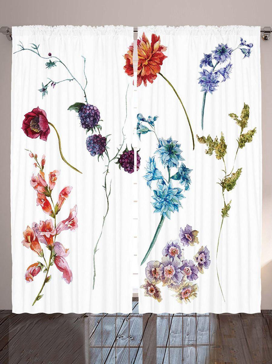 Комплект фотоштор Magic Lady Цветы и ягоды, на ленте, высота 265 см. шсг_911921324Компания Сэмболь изготавливает шторы из высококачественного сатена (полиэстер 100%). При изготовлении используются специальные гипоаллергенные чернила для прямой печати по ткани, безопасные для человека и животных. Экологичность продукции Magic lady и безопасность для окружающей среды подтверждены сертификатом Oeko-Tex Standard 100. Крепление: крючки для крепления на шторной ленте (50 шт). Возможно крепление на трубу. Внимание! При нанесении сублимационной печати на ткань технологическим методом при температуре 240°С, возможно отклонение полученных размеров (указанных на этикетке и сайте) от стандартных на + - 3-5 см. Производитель старается максимально точно передать цвета изделия на фотографиях, однако искажения неизбежны и фактический цвет изделия может отличаться от воспринимаемого по фото. Обратите внимание! Шторы изготовлены из полиэстра сатенового переплетения, а не из сатина (хлопок). Размер одного полотна шторы: 145х265 см. В комплекте 2 полотна шторы и 50 крючков.