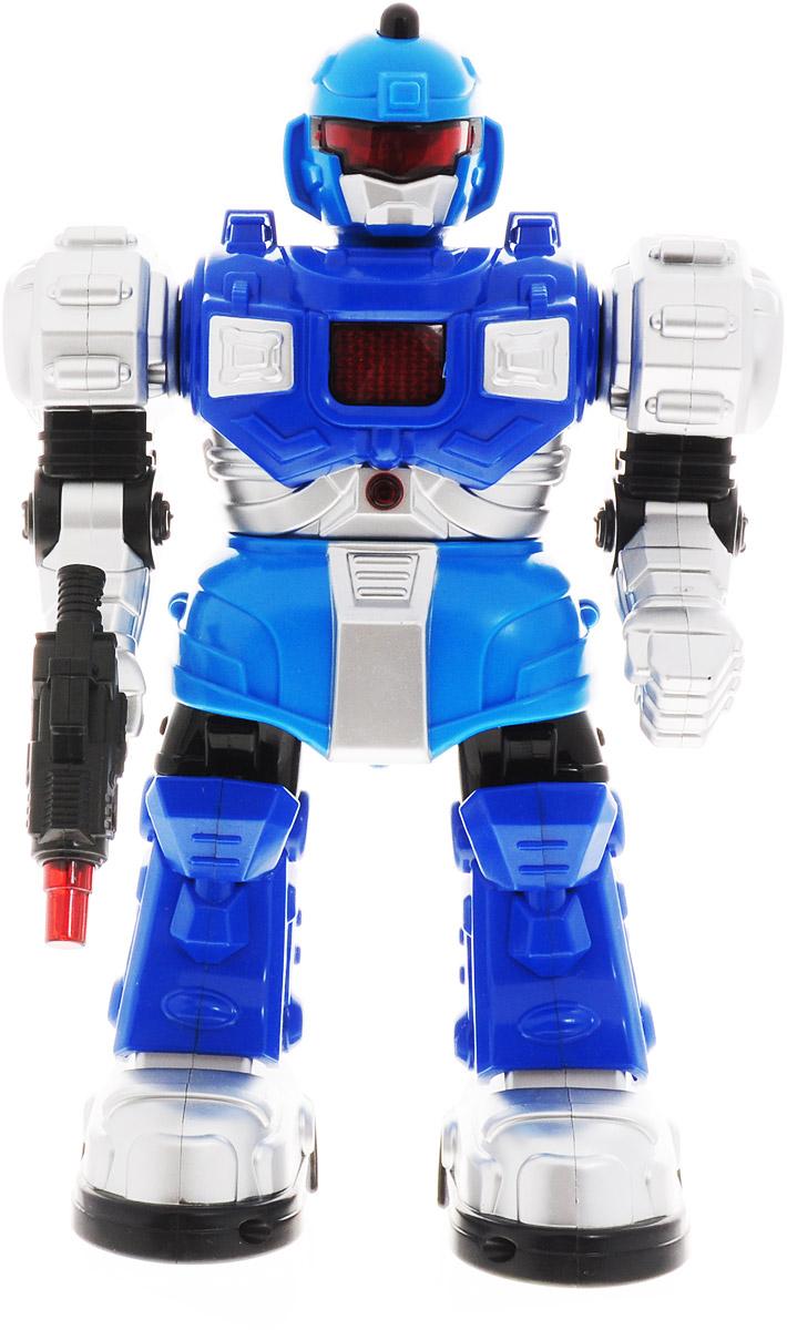 Veld-Co Робот на радиоуправлении Уран Т3000 цвет синий голубой серый