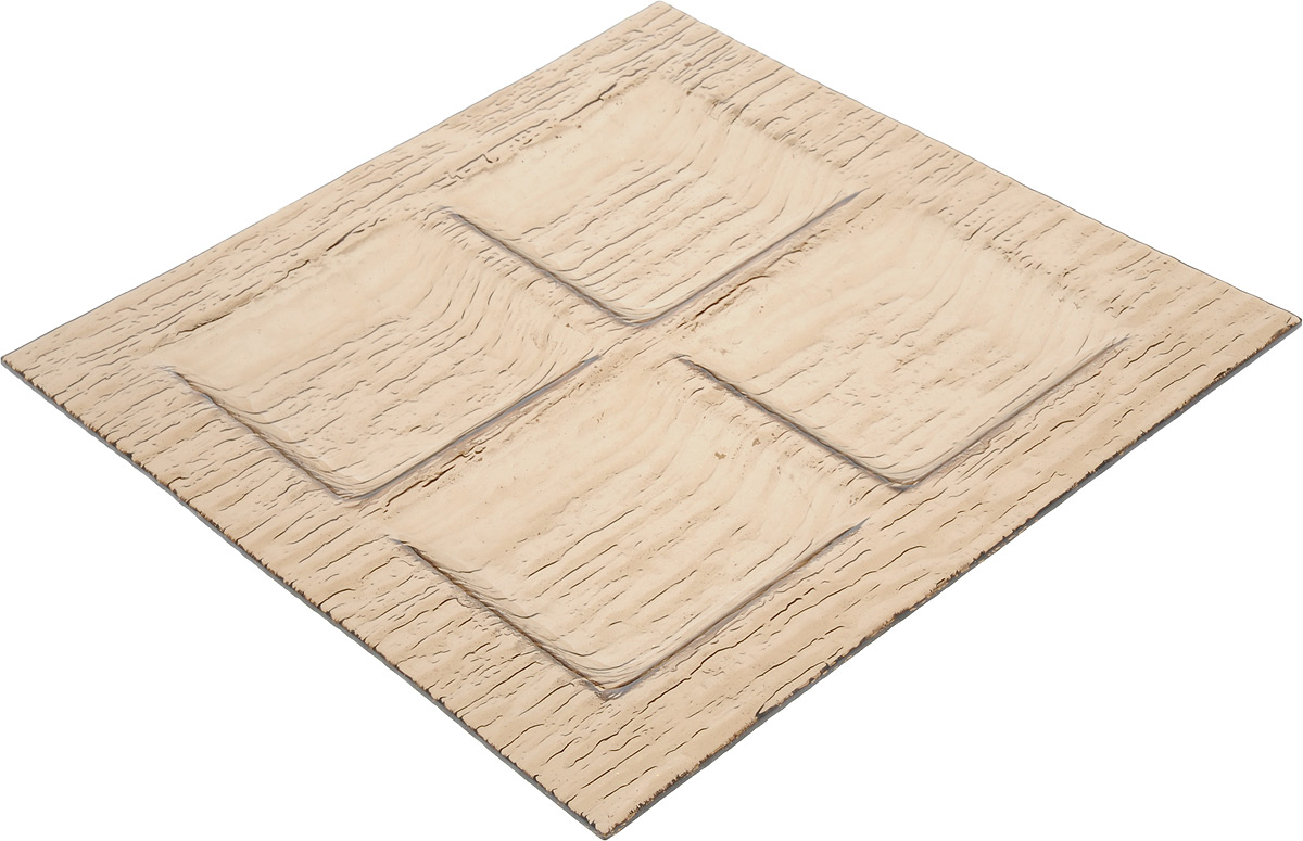 Менажница Vellarti, 4 секции, 26,3 х 26,3 см115510Менажница Vellarti выполнена из высококачественного стекла и дополнена красивым рельефным узором. Менажница содержит 4 квадратные секции, поэтому подходит для сервировки сразу нескольких закусок и нарезок. Такая менажница отлично подойдет для торжественных случаев. Она дополнит сервировку праздничного стола и подчеркнет ваш прекрасный вкус. Размер секции: 9 х 9 см.