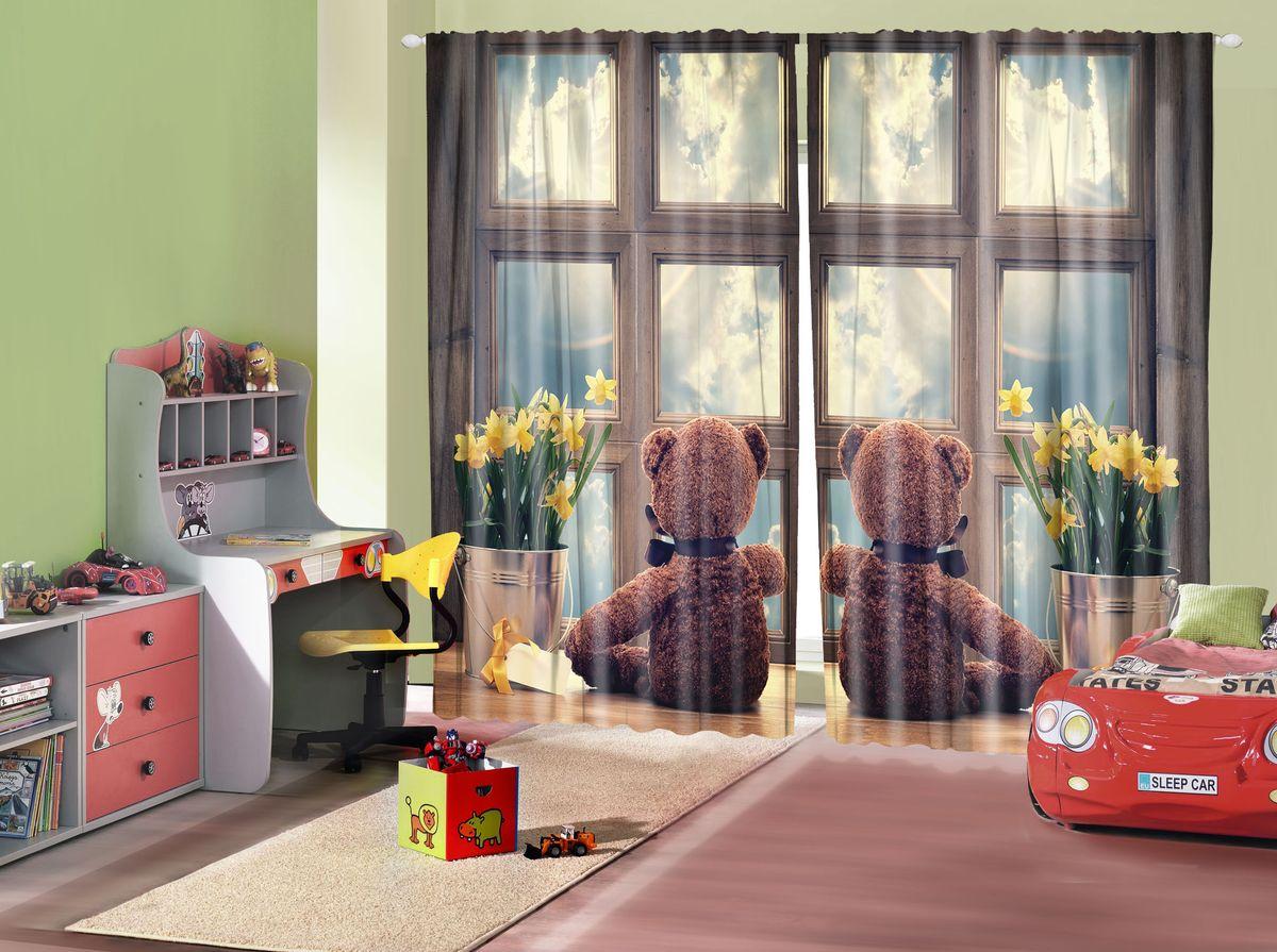 Комплект фотоштор Magic Lady Мишки у окна, на ленте, высота 265 см. шсг_162821292Компания Сэмболь изготавливает шторы из высококачественного сатена (полиэстер 100%). При изготовлении используются специальные гипоаллергенные чернила для прямой печати по ткани, безопасные для человека и животных. Экологичность продукции Magic lady и безопасность для окружающей среды подтверждены сертификатом Oeko-Tex Standard 100. Крепление: крючки для крепления на шторной ленте (50 шт). Возможно крепление на трубу. Внимание! При нанесении сублимационной печати на ткань технологическим методом при температуре 240°С, возможно отклонение полученных размеров (указанных на этикетке и сайте) от стандартных на + - 3-5 см. Производитель старается максимально точно передать цвета изделия на фотографиях, однако искажения неизбежны и фактический цвет изделия может отличаться от воспринимаемого по фото. Обратите внимание! Шторы изготовлены из полиэстра сатенового переплетения, а не из сатина (хлопок). Размер одного полотна шторы: 145х265 см. В комплекте 2 полотна шторы и 50 крючков.