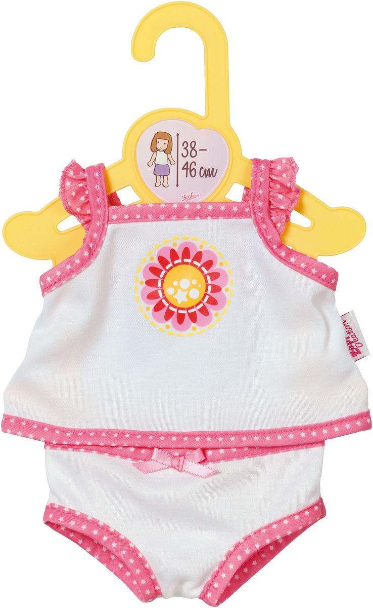 Baby Born Нижнее белье для куклы цвет белый розовый baby born подгузники для куклы