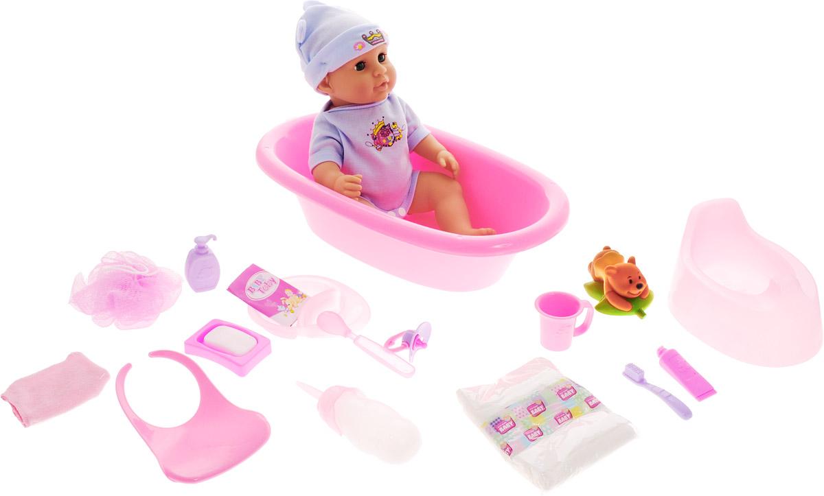 Veld-Co Пупс Baby Toby цвет розовый голубой