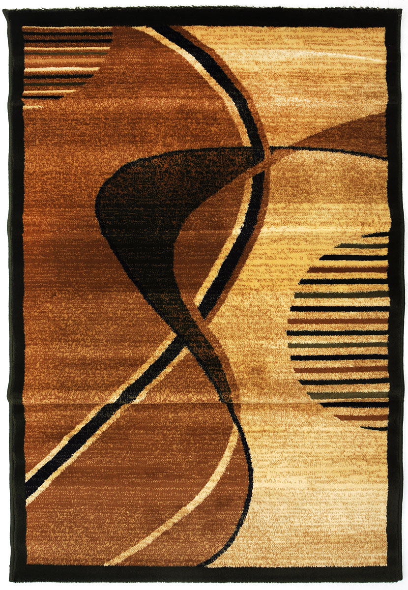 Ковер Kamalak Tekstil, прямоугольный, 100 x 150 см. УК-0541УКД-2057Ковер Kamalak Tekstil изготовлен из прочного синтетического материала heat-set, улучшенного варианта полипропилена (эта нить получается в результате его дополнительной обработки). Полипропилен износостоек, нетоксичен, не впитывает влагу, не провоцирует аллергию. Структура волокна в полипропиленовых коврах гладкая, поэтому грязь не будет въедаться и скапливаться на ворсе. Практичный и износоустойчивый ворс не истирается и не накапливает статическое электричество. Ковер обладает хорошими показателями теплостойкости и шумоизоляции. Оригинальный рисунок позволит гармонично оформить интерьер комнаты, гостиной или прихожей. За счет невысокого ворса ковер легко чистить. При надлежащем уходе синтетический ковер прослужит долго, не утратив ни яркости узора, ни блеска ворса, ни упругости. Самый простой способ избавить изделие от грязи - пропылесосить его с обеих сторон (лицевой и изнаночной). Влажная уборка с применением шампуней и моющих средств не противопоказана. Хранить рекомендуется в свернутом рулоном виде.