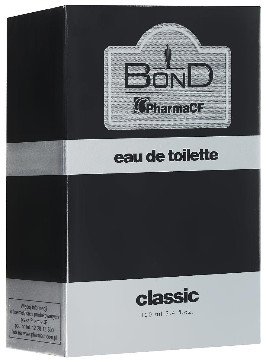 Bond мужская туалетная вода Expert Classic, 100 мл28032022Классический и стильный аромат для настоящего мужчины, которого отличает решительность и уверенность в себе. Продукты серии Classic содержат увлажняющий и регенерирующий аллантоин.Косметика серии Bond были разработаны с мыслью о специфических требованиях мужской кожи. Их характеризует повышенная эффективность и удобство использования. Отличает инновационная формула, натуральные компоненты и, прежде всего, мужественный, классический аромат, который сохраняется на коже до 24 часов.