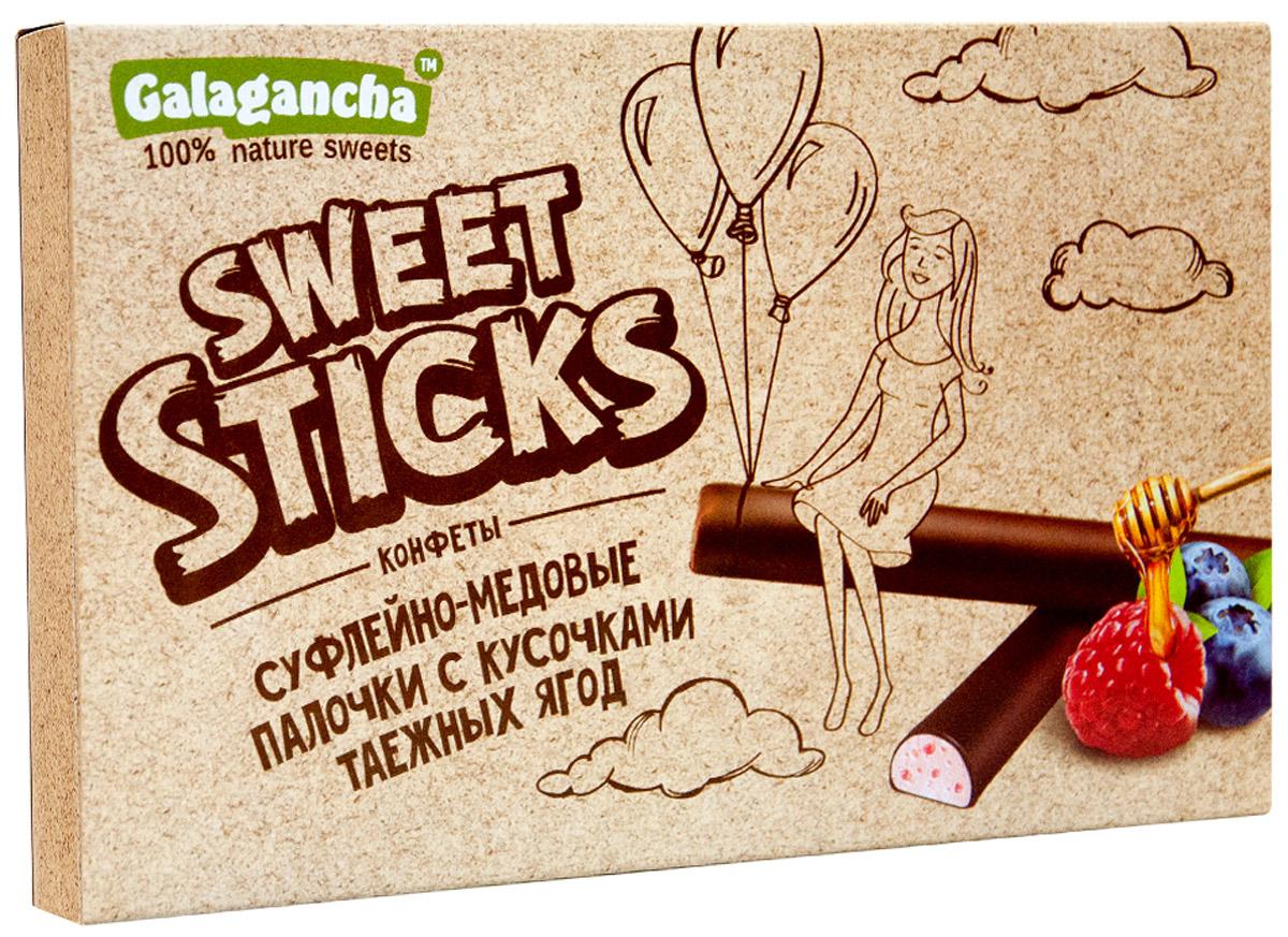 Galagancha Sweet Sticks конфеты суфлейные палочки с кусочками таежных ягод, 112 г0120710100% натуральные;сниженное содержание сахара;оригинальная форма суфле;легкий десерт с кусочками таежных ягод;Galagancha - может быть превосходным подарком, а может быть приятными минутами домашнего вечера, а может быть … Sweet Sticks – это изысканное лакомство, очень нравится девушкам. Для тех, кто заботится о своем здоровье и форме.Уважаемые клиенты! Обращаем ваше внимание, что полный перечень состава продукта представлен на дополнительном изображении.