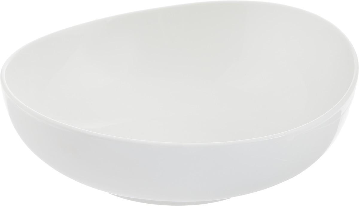 Салатник Ariane Коуп, 1 л115510Салатник Ariane Коуп, изготовленный из высококачественного фарфора с глазурованным покрытием, прекрасно подойдет для подачи различных блюд: закусок, салатов или фруктов. Такой салатник украсит ваш праздничный или обеденный стол.Можно мыть в посудомоечной машине и использовать в микроволновой печи.Диаметр салатника (по верхнему краю): 20,5 см.Высота стенки: 7 см.Объем салатника: 1 л.
