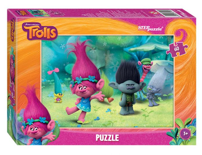 Step Puzzle Пазл для малышей Trolls 81148 step puzzle пазл для малышей fisher price 91224