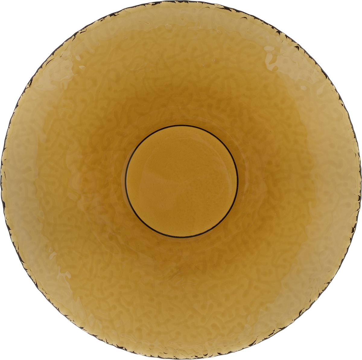 Тарелка NiNaGlass Ажур, цвет: дымчатый, диаметр 21 см115510Тарелка NiNaGlass Ажур выполнена из высококачественного стекла и имеет рельефнуюповерхность. Она прекрасно впишется в интерьер вашей кухни и станет достойным дополнениемк кухонному инвентарю. Тарелка NiNaGlass Ажур подчеркнет прекрасный вкус хозяйки и станет отличным подарком.Диаметр тарелки: 21 см.Высота: 2,5 см.