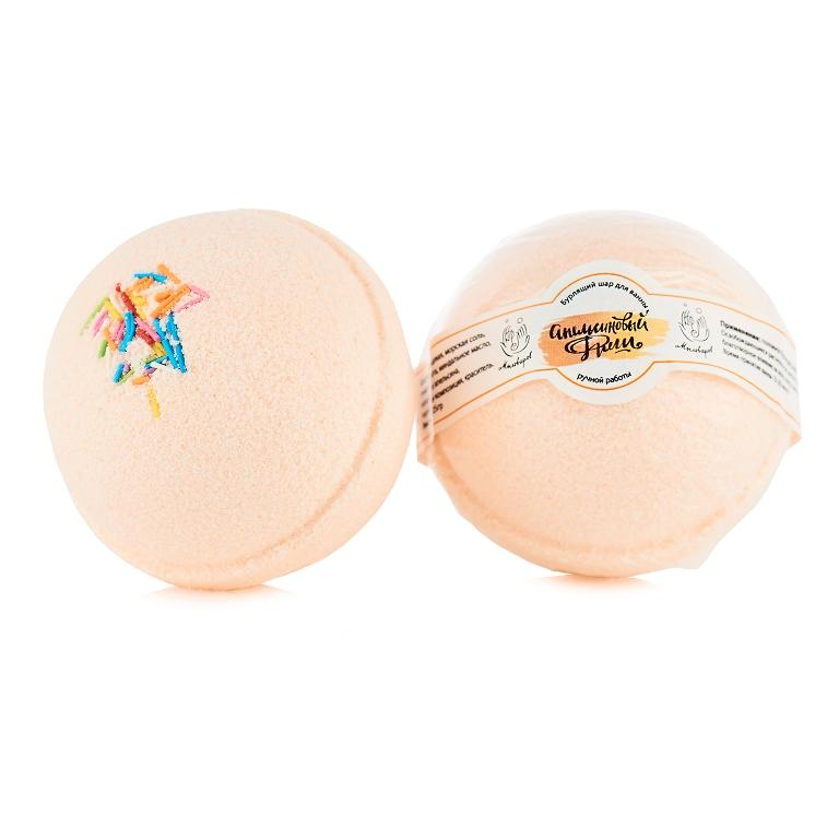 Мыловаров Шары для ванны Апельсиновый фреш, 2*150грFS-00897Этот оранжевый бурлящий шар с бодрящим ароматом апельсина превращает банальное купание в чувственную феерию наслаждения. Морская соль насыщает воду полезными микроэлементами, миндальное масло увлажняет кожу, а апельсин бодрит и настраивает на романтический лад. Апельсиновый фреш — это мощный заряд прекрасного настроения, остающегося с вами целый день.