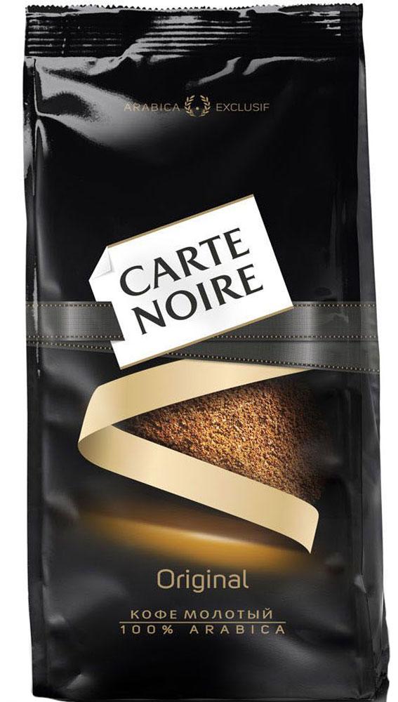 Carte Noire кофе молотый, 230 г0120710Достигнув совершенства в кофейном мастерстве, Carte Noire создал новый стандарт качества кофе - Carte Noire Original. Богатый гармоничный вкус Carte Noire Original достигается благодаря отобранным кофейным зернам 100% Arabica Exclusif из Латинской Америки и Азии. Обжарка Carte Noire Огонь и лед раскрывает всю интенсивность и богатство вкуса натурального кофейного зерна, воплощаясь в совершенный вкус кофе.