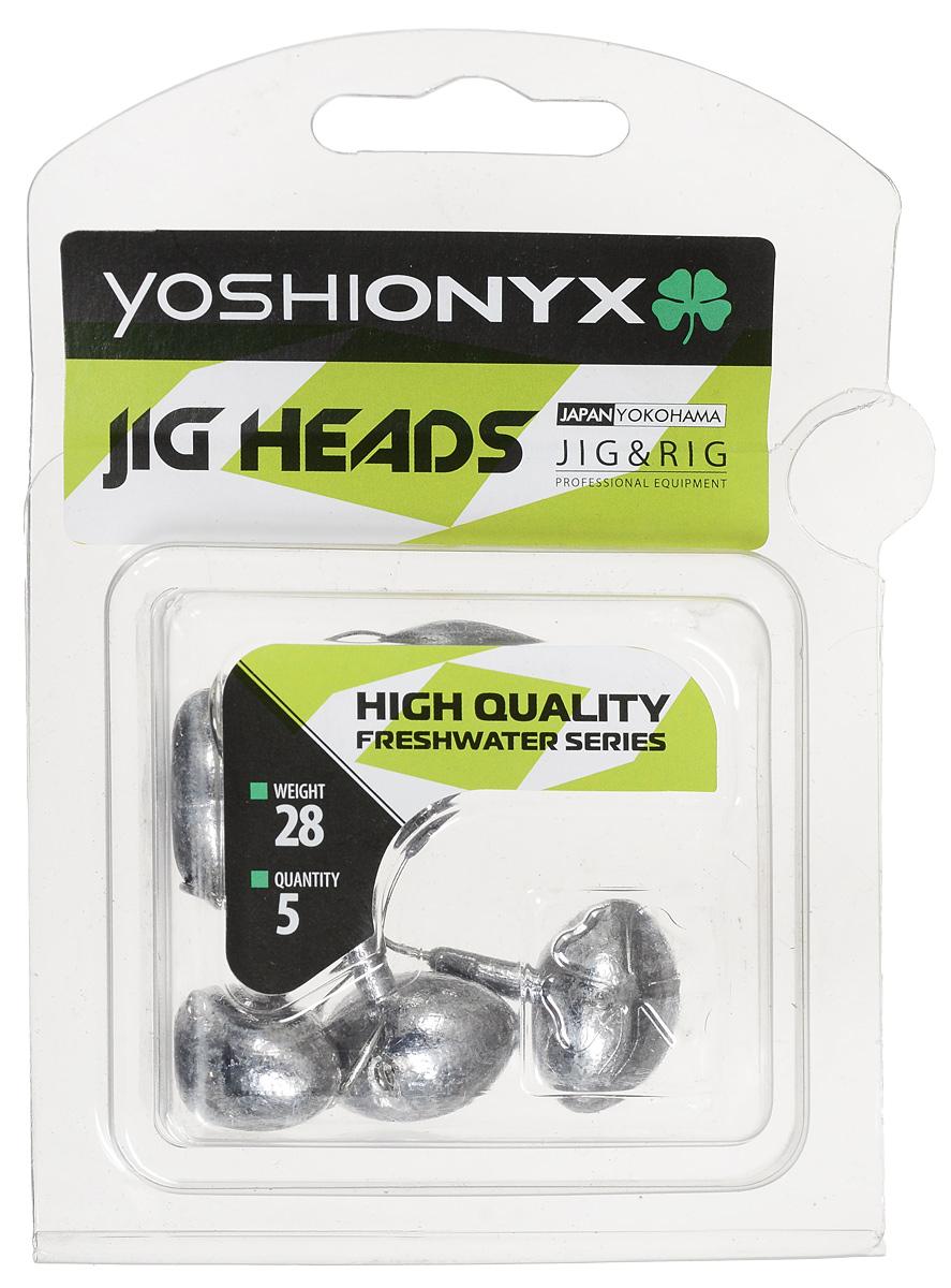 Джиг-головка Yoshi Onyx JIG Bros. Футбольный мяч, крючок Gamakatsu, 28 г, 5 шт j hart & bros jh001emvyx36 j hart & bros