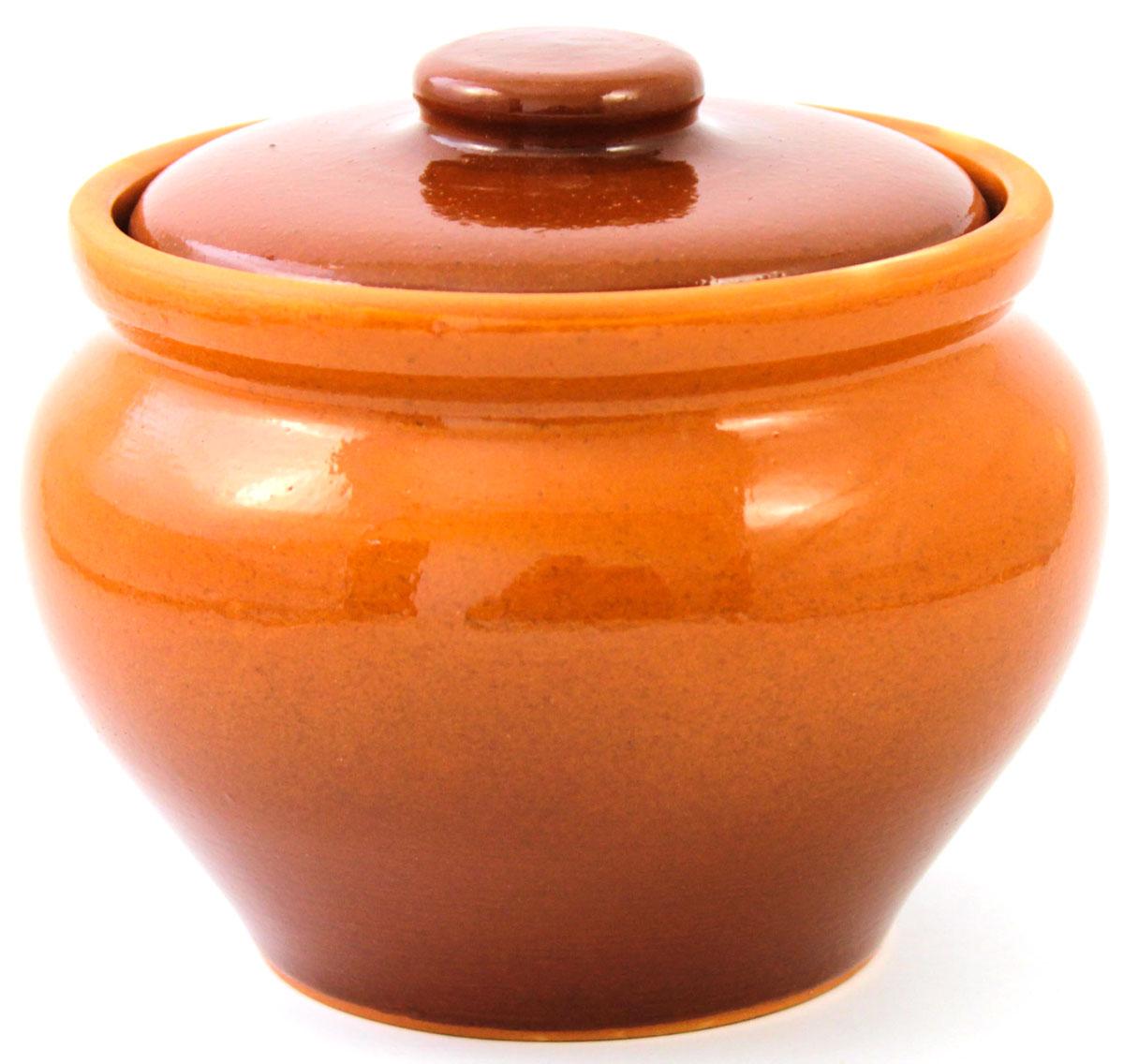 Горшок для запекания Ломоносовская керамика, с крышкой, цвет: коричневый, 800 мл54 009312Горшок для запекания Ломоносовская керамика с крышкой выполнен из высококачественной глины. Уникальные свойства глины и толстые стенки изделия обеспечивают эффект русской печи при приготовлении блюд. Блюда, приготовленные в керамическом горшке, получаются нежными исочными. Вы сможете приготовить мясо, сделать томленые овощи и все это без капли масла. Этоодин из самых здоровых способов готовки.